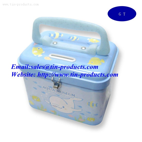 Tin coin bank,Metal coin banks ,Metal money holder