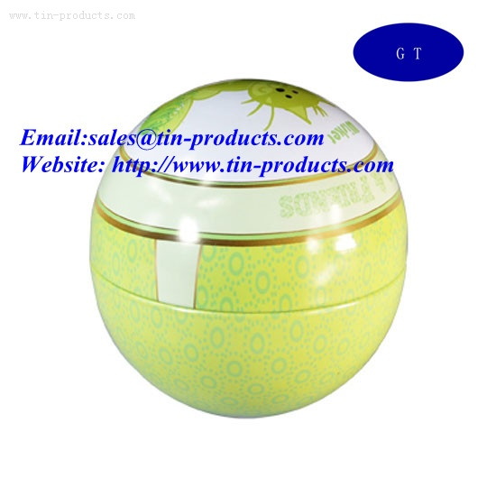 Metal ball box ,Tin box,Metal gift case