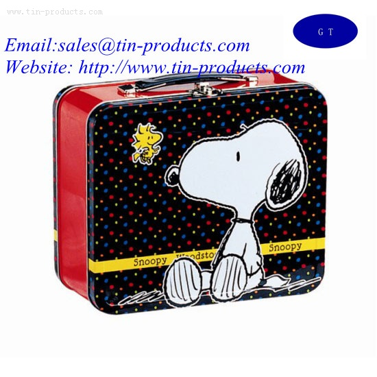 Snoop lunch tin,Gift Lunch box ,Tin lunch box