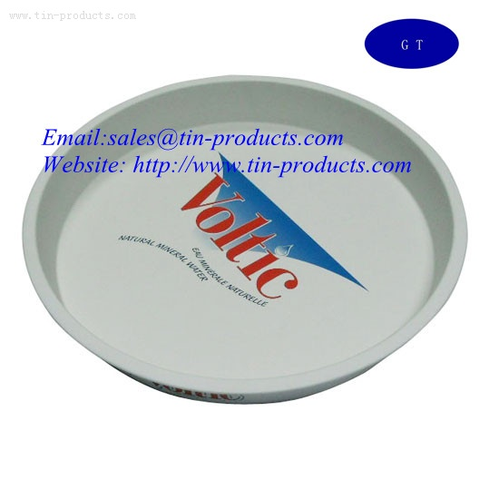 Tin trays, metal trays, Beer tin tray