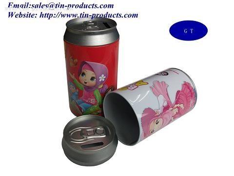 Coca-Cola Tin ,Money Tin  ,Promotional Tins