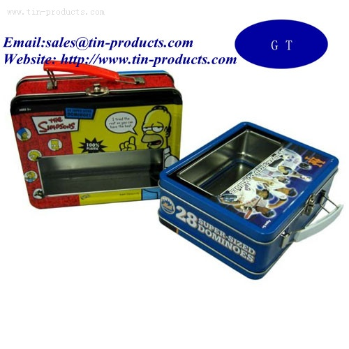 Lunch Tin box ,Metal Lunch box , Promotional Tin