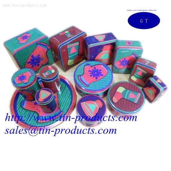 Different Christmas Gift Boxes