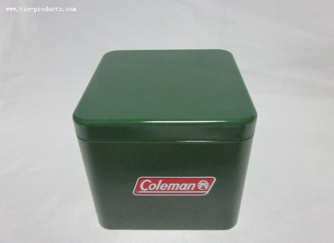 Square Coleman Gift Watch Box from Goldentinbox