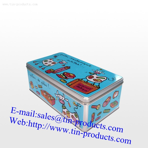 Gift Tin Box for Different Promotion